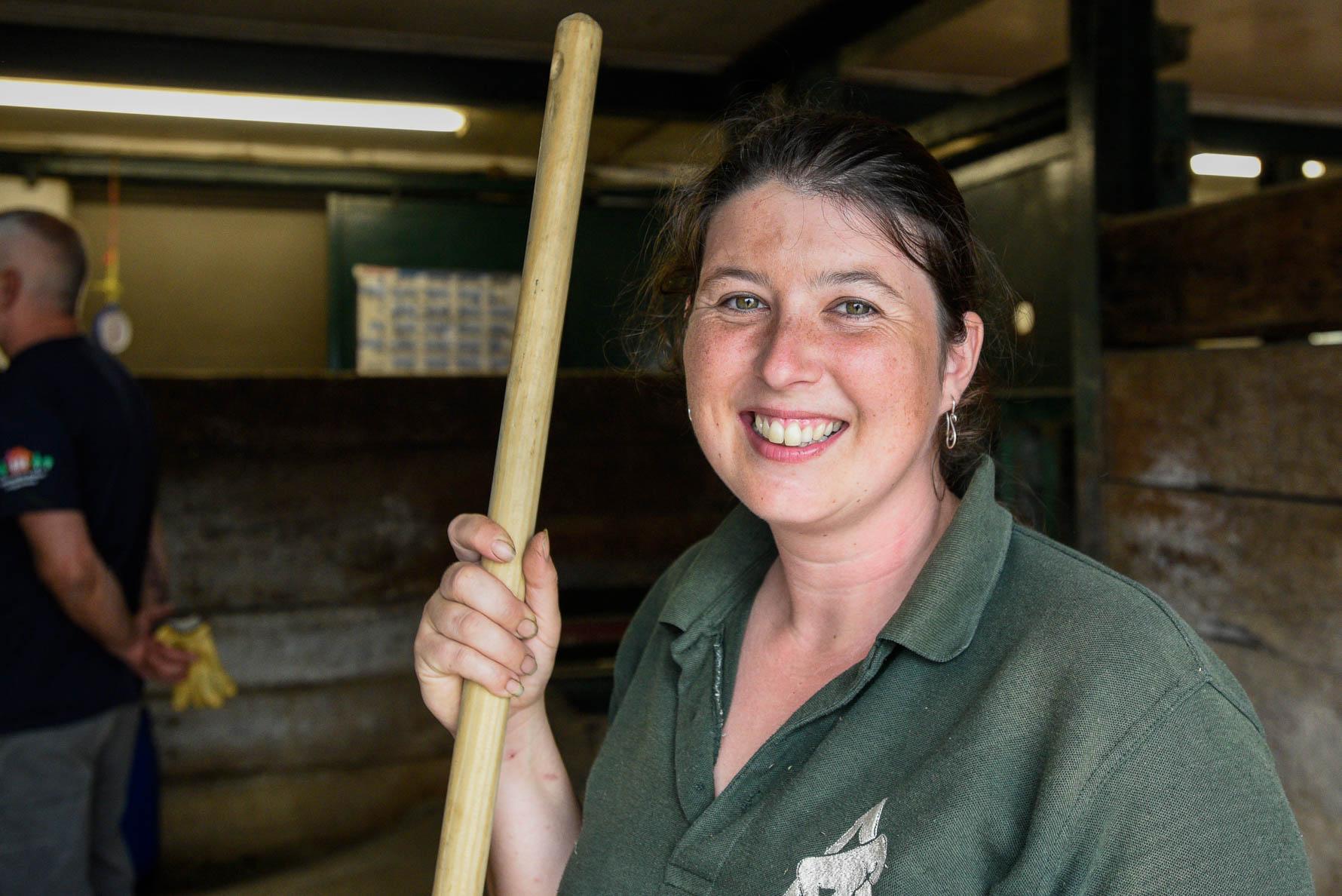 Shelley Kettle - Senior Rhino Keeper
