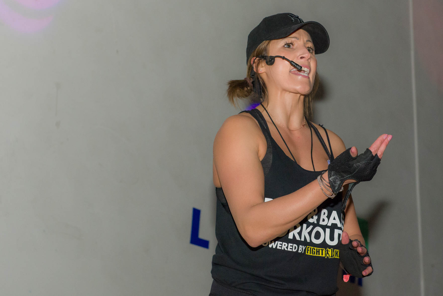 PR photography - instructor leading exercise class
