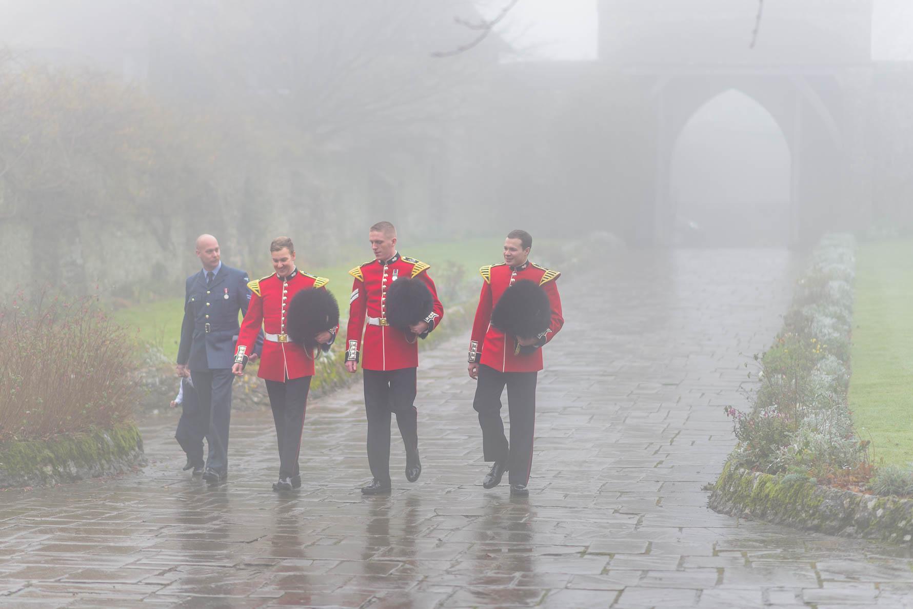 Lympne Castle winter wedding-6.jpg