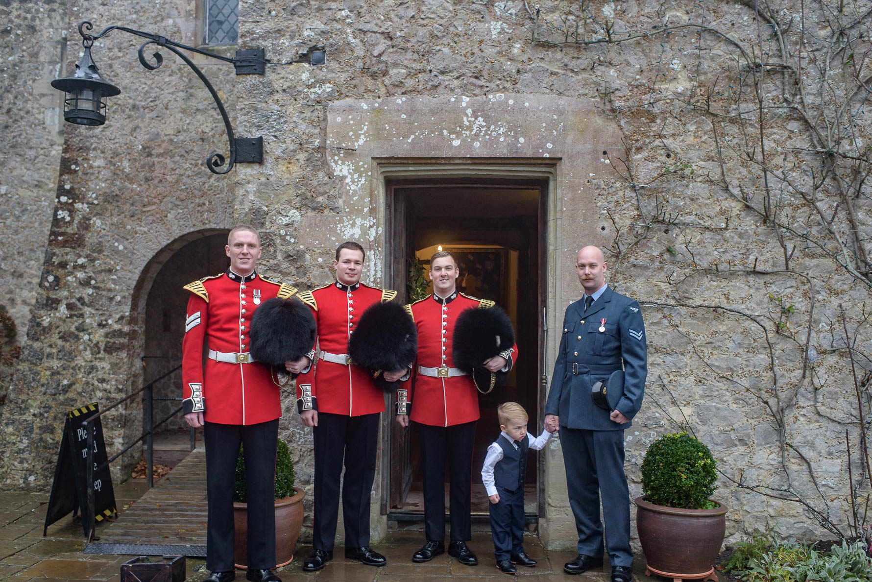 Lympne Castle winter wedding-7.jpg