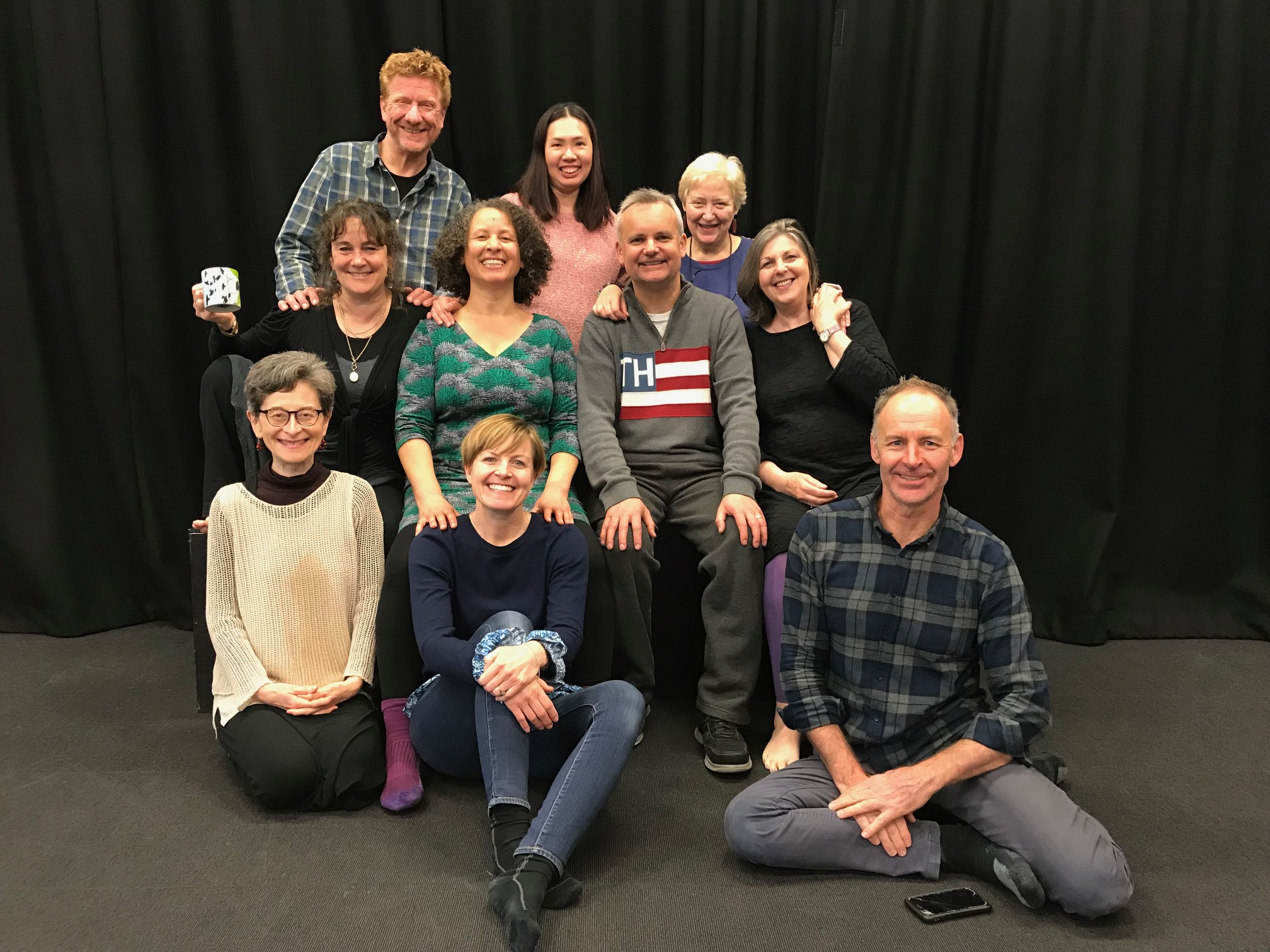 Greetings from us all to you…..we were at the SPT UK trainers meeting on 8 April 2019 - from upper left to right: Steve Nash, Agnes Law, Di Adderley; middle row left to right: Alison Fairlove, Rose Thorn, Simon Floodgate, Amanda Brown; bottom row: Veronica Needa, Davina Holmes, Andrew Gray.