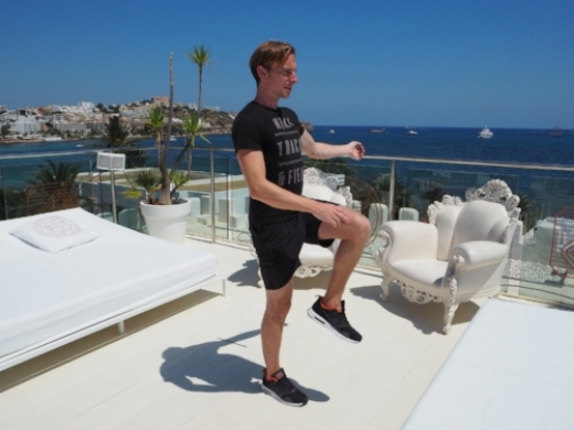 Ibiza Body Weight HIIT Exercise Guide