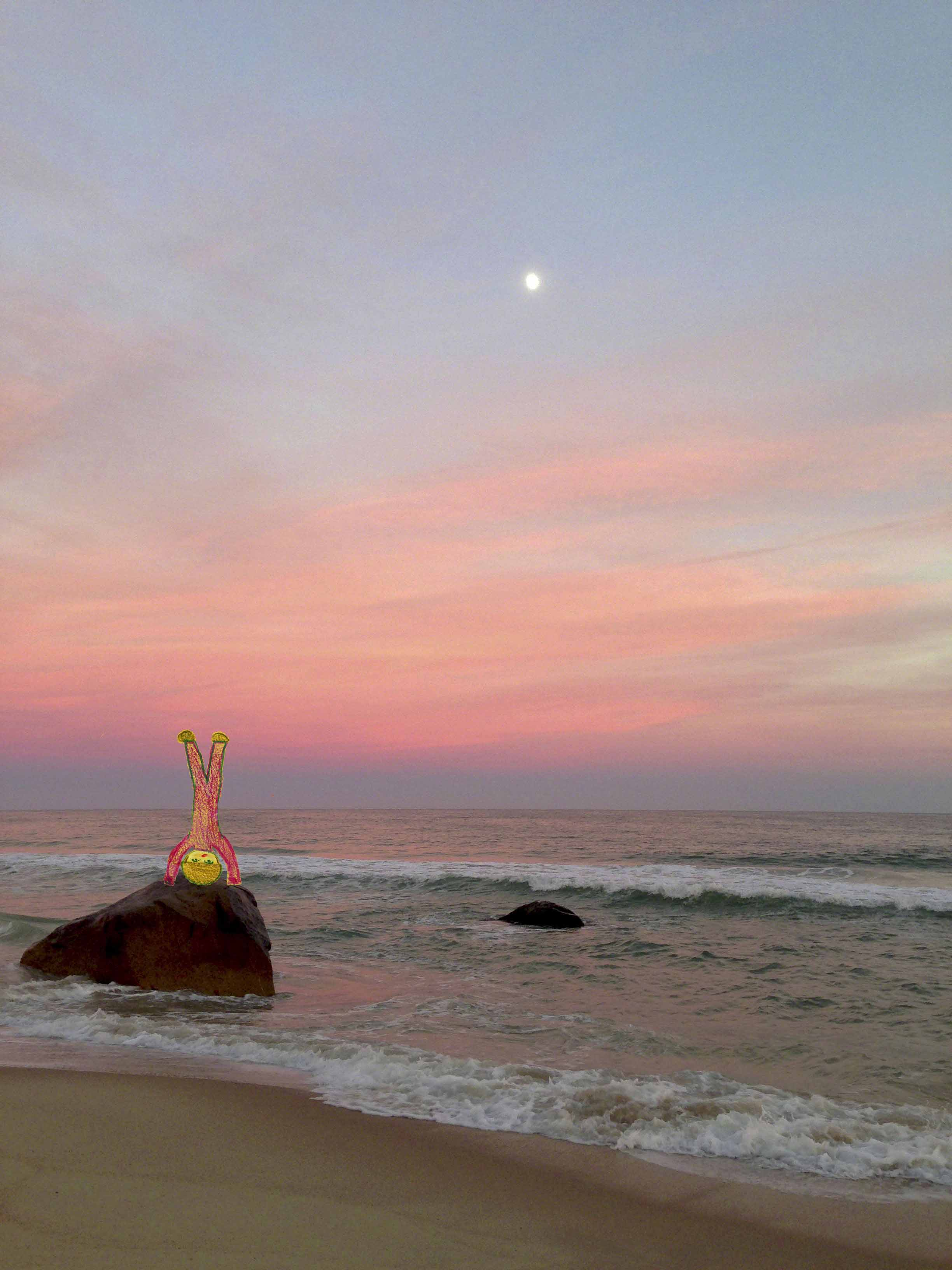 Low Res Dusk Headstand at Lucy Vincent Beach.jpg