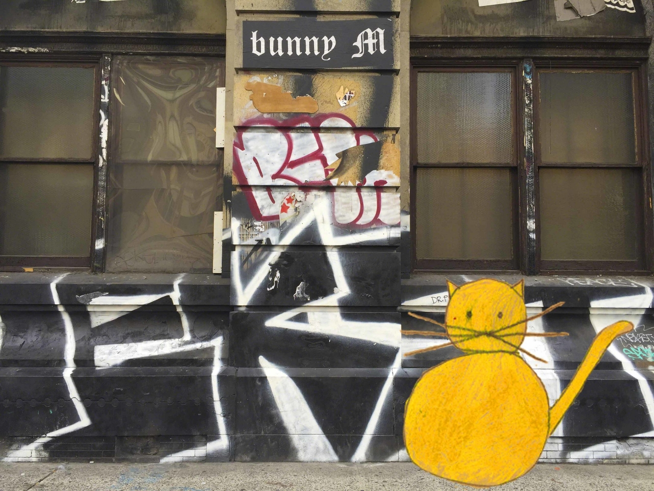 Cat on the Bowery