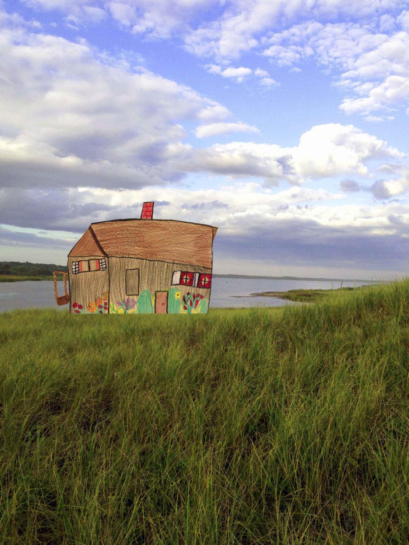House on Chilmark Pond