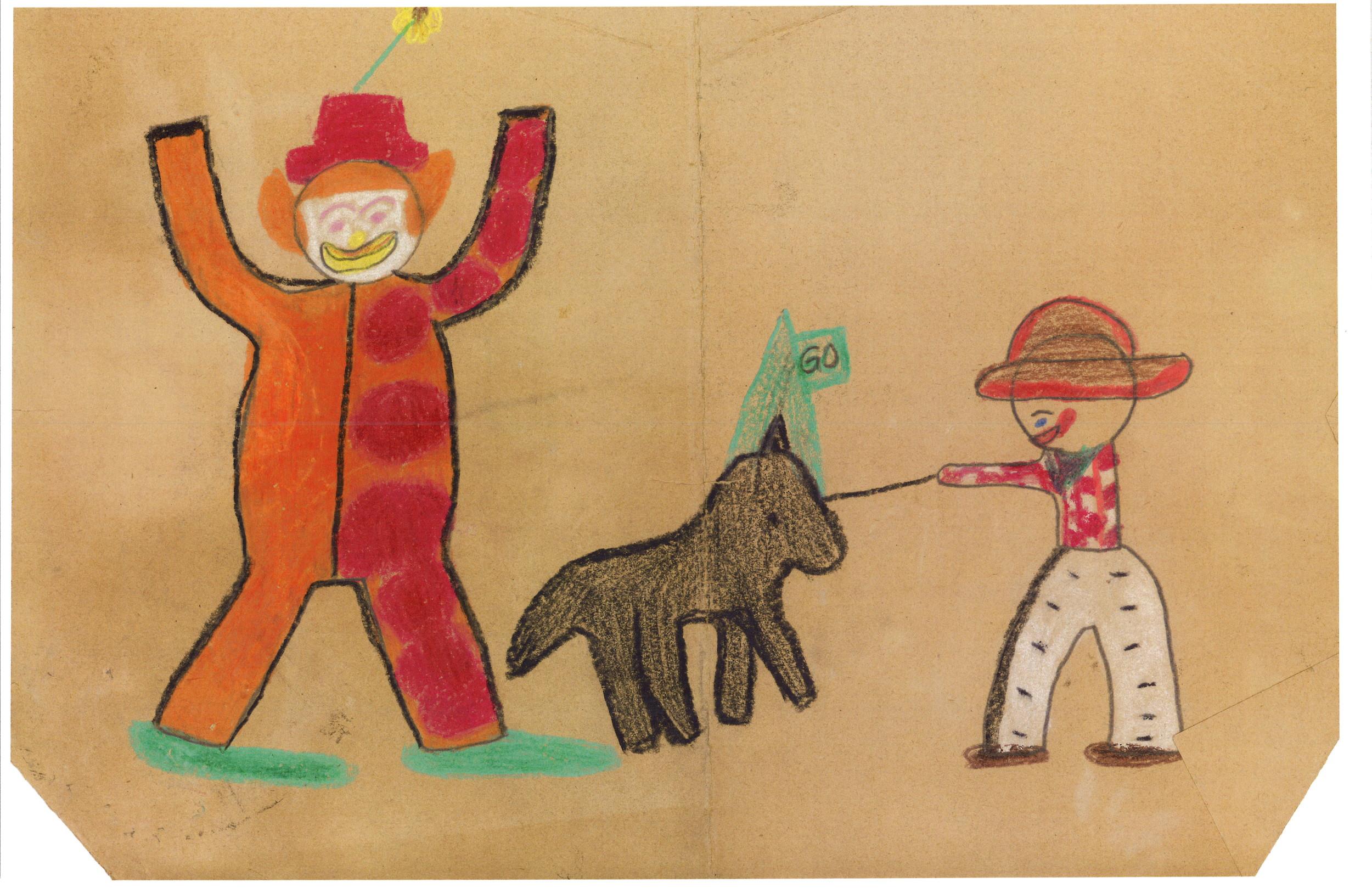 Clown cowboy and horse.jpg