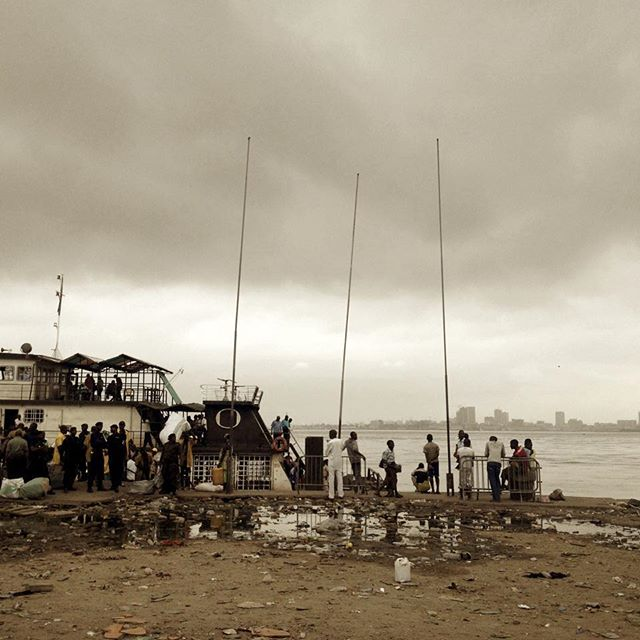 going through some of my old photos...here's one from Brazzaville, Republic of Congo. It shows men from the neighbouring Democratic Republic of Congo (seen across the river) lined up to board a ferry commissioned by the Republic of Congo army to deport them. Brazzaville is small for an African capital. It has a little under two million people. Kinshasa, its neighbour in the DRC, has 12 million. Although neither of the Congos is wealthy, there is a big gap in quality of life, and the level of stability. For these reasons, there is a constant fear in Brazzaville of being overwhelmed by migrants from across the river. Over the summer of 2014, when I took this photo, the Brazzaville government deported some 179,000 DRC nationals, often using ferries like this one. Many were seeking asylum under international refugee conventions, and others were reportedly legal migrants arrested arbitrarily.