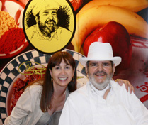 Beth and great New Orleans' chef Paul Prudhomme
