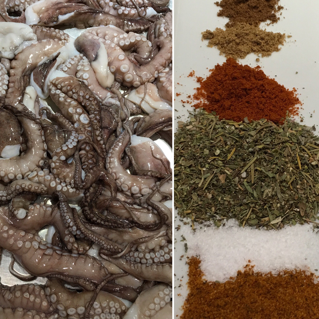 Octopus & Spices / Ready For The Slow Cooker