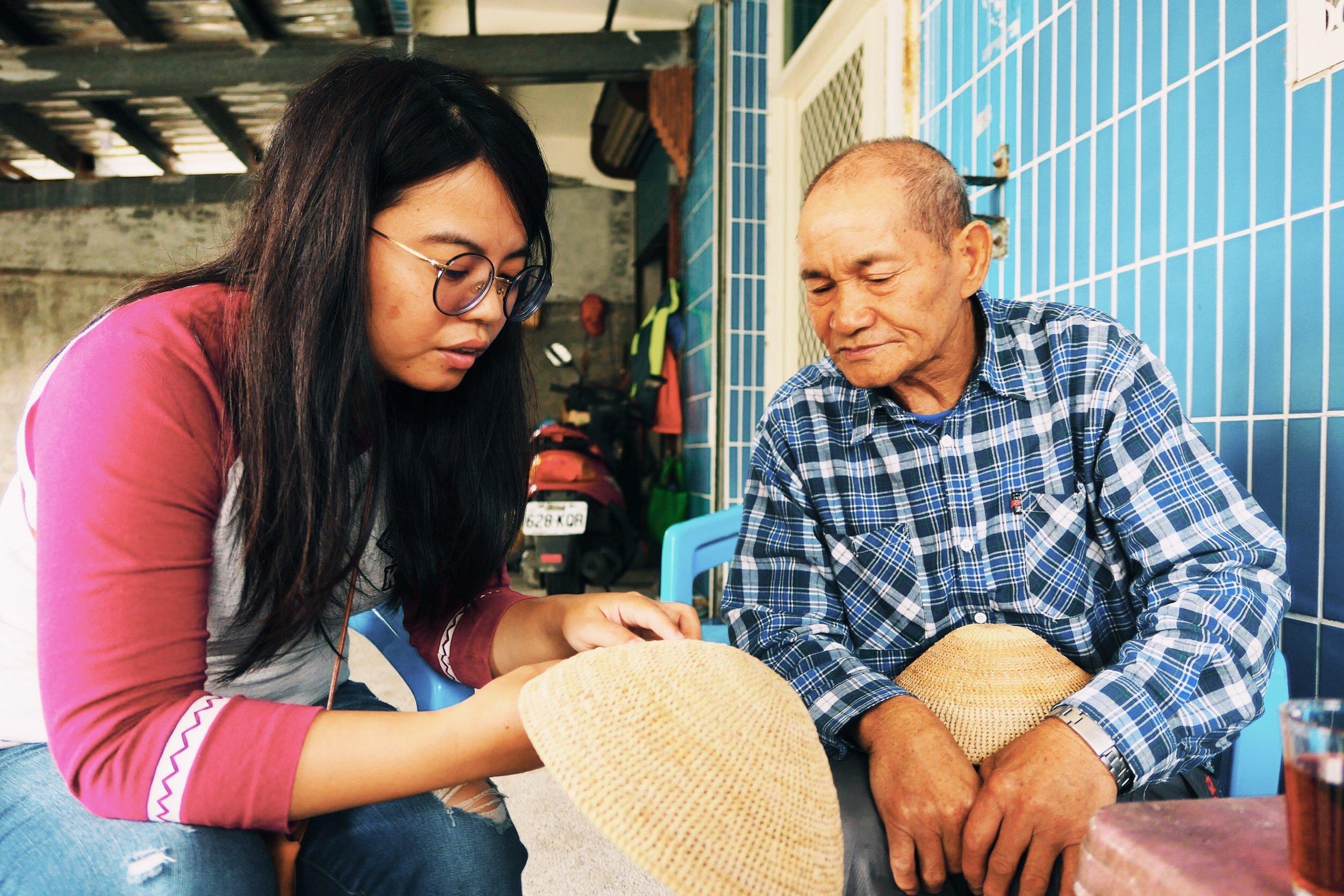 討論kafong(藤帽)的製作編法