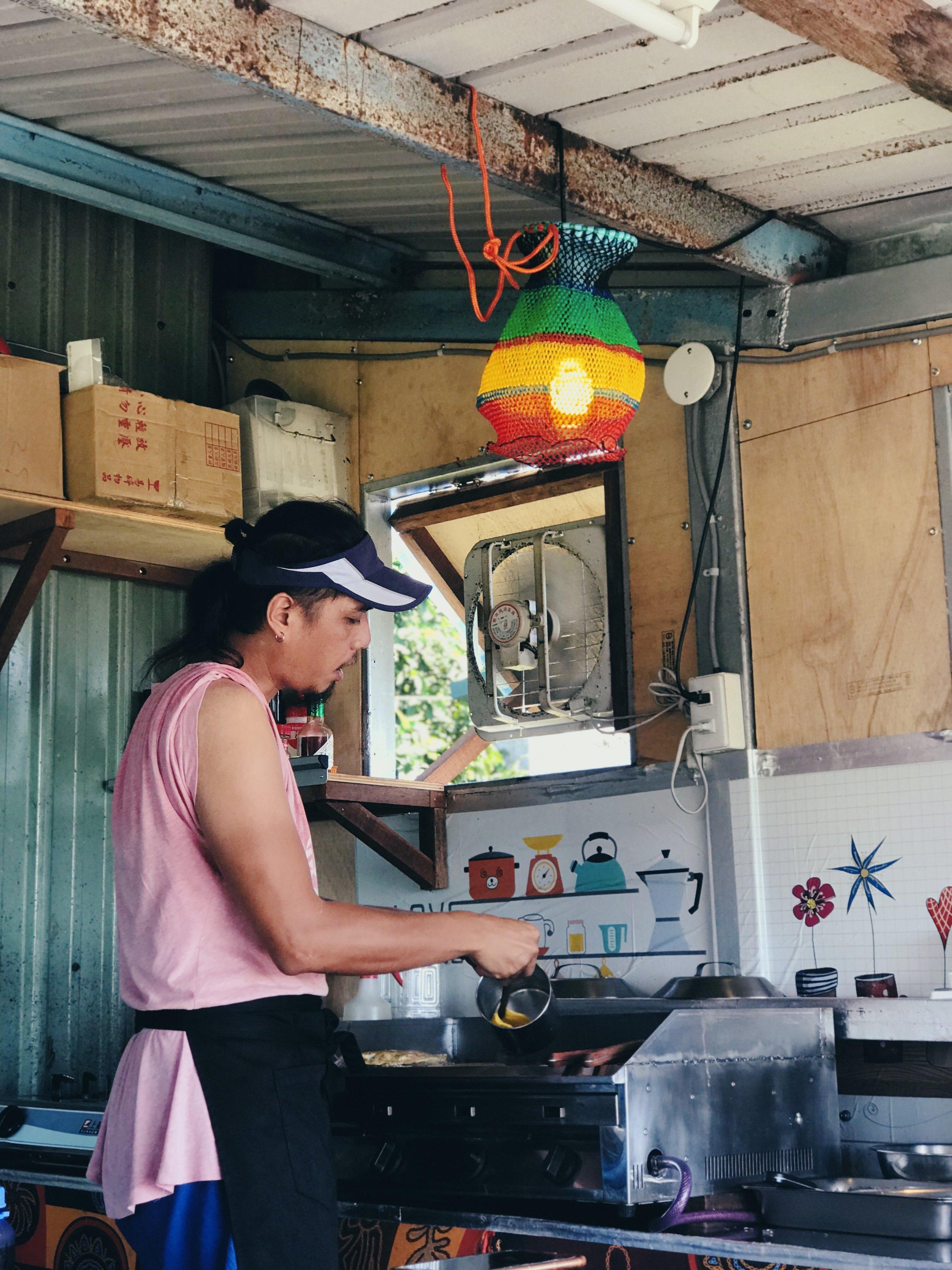 煎台上的sofok造型的燈罩