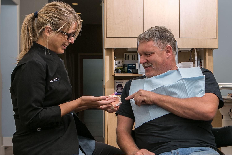 Dr. Cindee Melaschenko patient Tim Leardo, Summerland BC