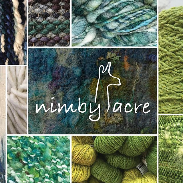 Here's part of an unused postcard layout we created for @nimbyacre — an incredible weaving studio and retail shop in our hometown of Mount Vernon. If you're into fiber arts, weaving or yarn you simply must check them out — tell Raeschell the Bryant Bros sent you! . . Logo design by: @ethnfndr . . #PrintDesign #Postcard #Marketing #BrandCommunication #FiberArt #Weaving #Artisan