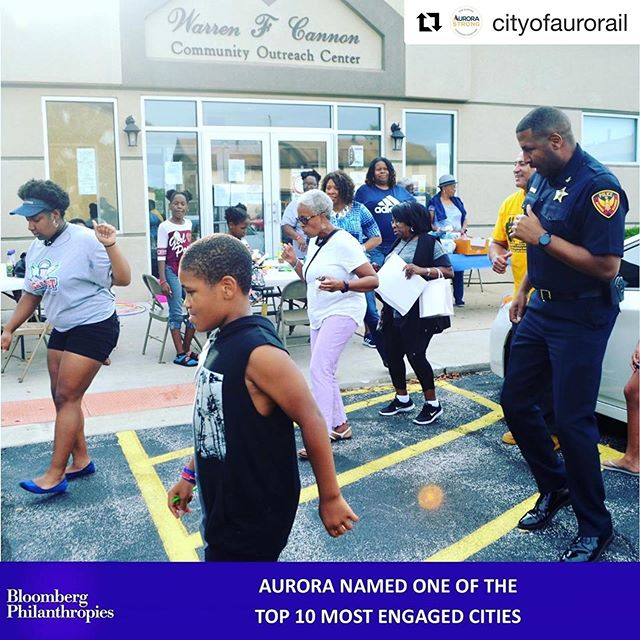 """#Repost @cityofaurorail with @get_repost ・・・ AURORA NAMED ONE OF THE TOP 10 MOST ENGAGED CITIES  Cities of Service today announced Aurora, Illinois as one of the top 10 finalists for the 2019 Engaged Cities Award, the international recognition program that elevates the work being done in cities to partner with residents and solve a diverse range of problems.  The award, underwritten by Bloomberg Philanthropies, highlights the ways city leaders are co-creating the future with residents and allows cities around the world to learn best practices and implement similar solutions in their own communities. """"We are more heartened than ever to see that city leaders continue to break down barriers to citizen participation and involvement,"""" said Myung J. Lee, Cities of Service Executive Director. """"The ten finalist cities show the power of working alongside their residents to improve lives and provide a model for others to follow."""" The 10 finalist cities are: Atlanta, Georgia; Aurora, Illinois; Bogotá, Colombia; Chicago, Illinois; Flint, Michigan; Lakewood, Colorado; London, United Kingdom; Orlando, Florida; Plymouth, United Kingdom and San Francisco, California  Finalists tackled challenges related to the environment and sustainability, health and safety, neighborhood revitalization, and more. The 10 finalists were selected based on key selection criteria, including significant work with citizens to tackle a public problem, clear evidence of impact, and potential to apply their strategy to other problems and geographies.  Cities in Service ranked Aurora, Illinois as a top finalist because of the efforts led the City's Neighborhood Group Support Team to create and enhance the capacity of neighborhood groups and to organize community events that built trust between residents and police, such as National Night Out and neighborhood connection events. The number of active neighborhood groups in Aurora has doubled over the past two years. """"Community engagement and direct communicati"""