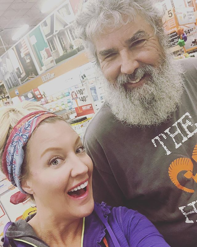 Tiffany and Paul gearing up for the SHEBuild 9/20-9/21! We will be providing critical repairs and renovations to a home in the Aurora! #tooltime #shebuild #rta #rebuildingtogether