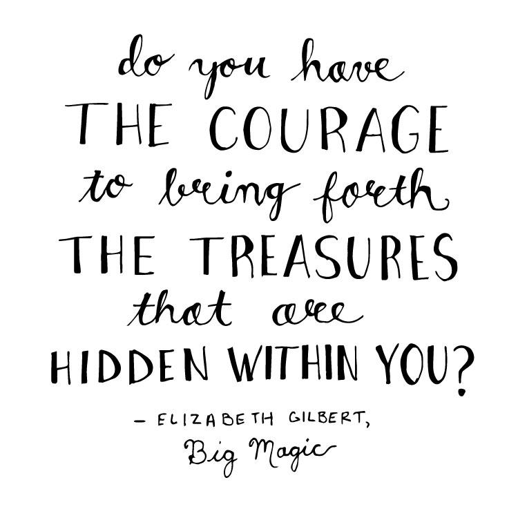 Big Magic Quote