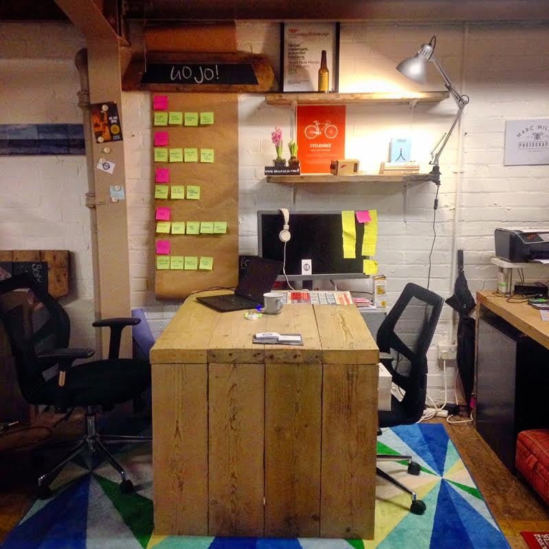 My space at Tribe Porty
