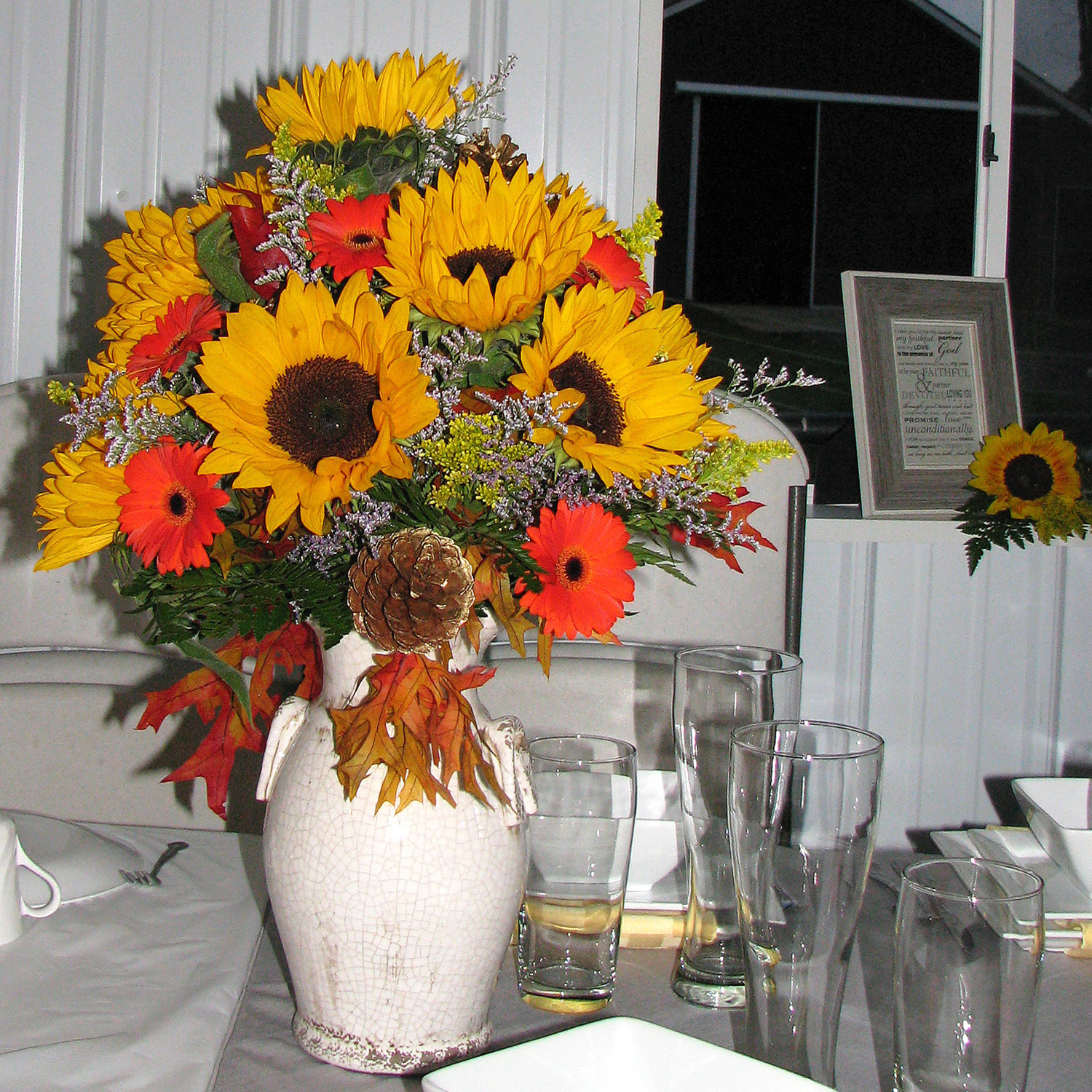 Amish Wedding SunFlowers-Middlefield Ohio-Flowers by Emily.JPG