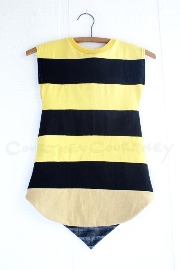 ⅘ bee:stripe:capsleeve.jpg