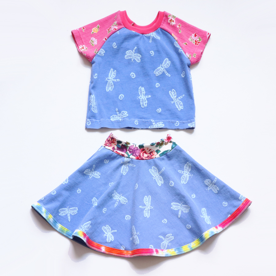 5T dragonfly:blue:pink:floral:ss:skirt:set.jpg