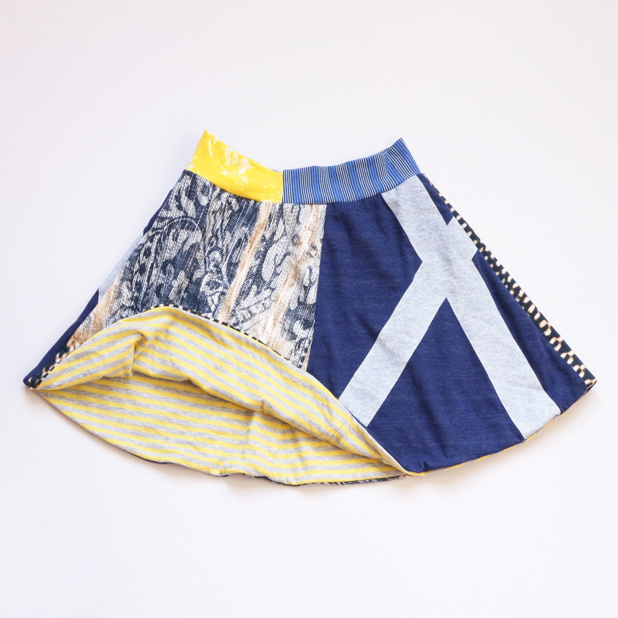 lining 10 blackbird:X:navy:yellow:lined:skirt .jpg
