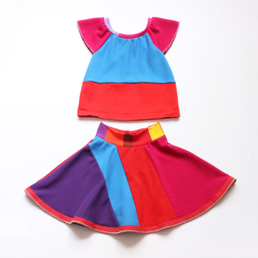 3T colorblock:marcjacobs:flutter:skirt:set .jpg
