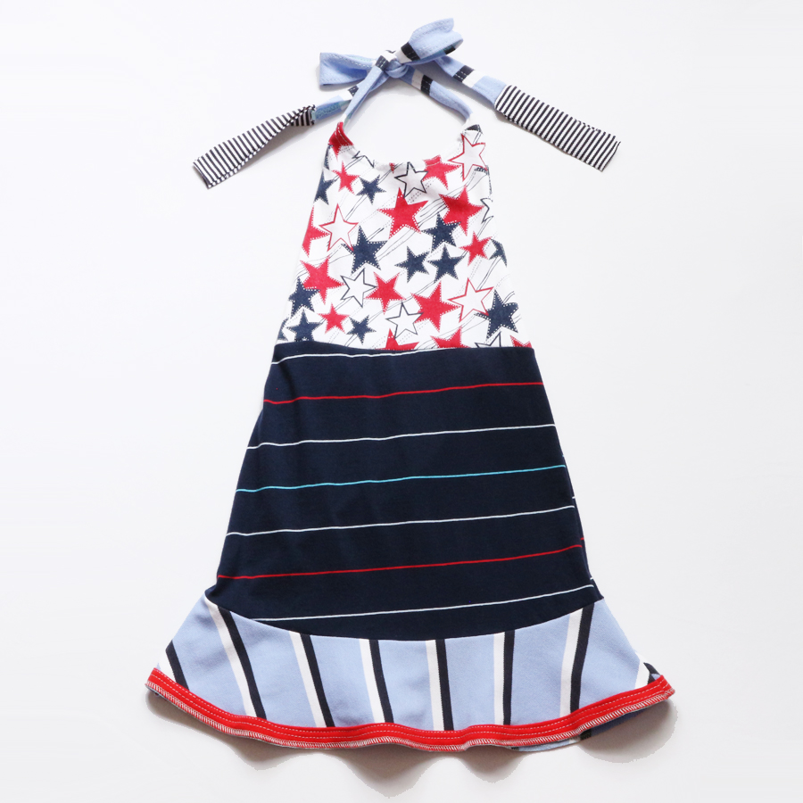 ¾ stars:navy:stripes:RWB:halter:dress.jpg