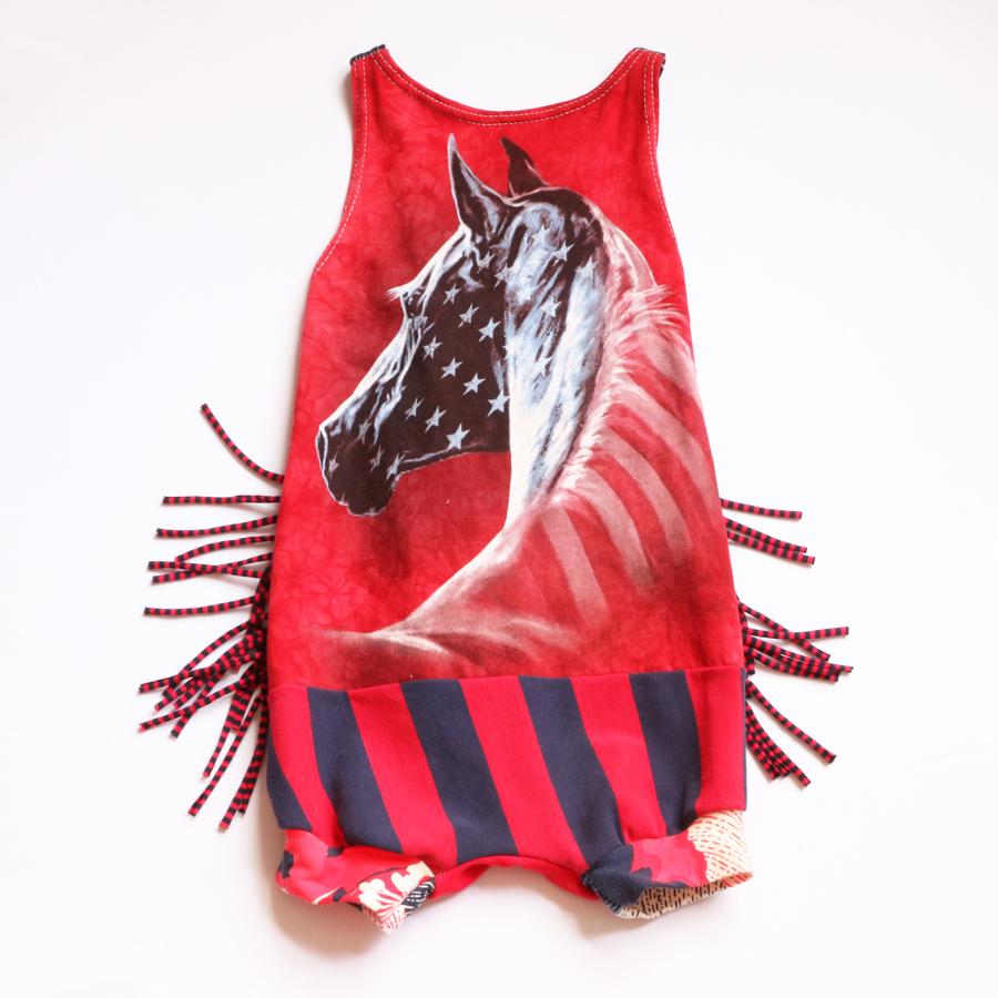⅚ horse:USA:fringe:romper.jpg