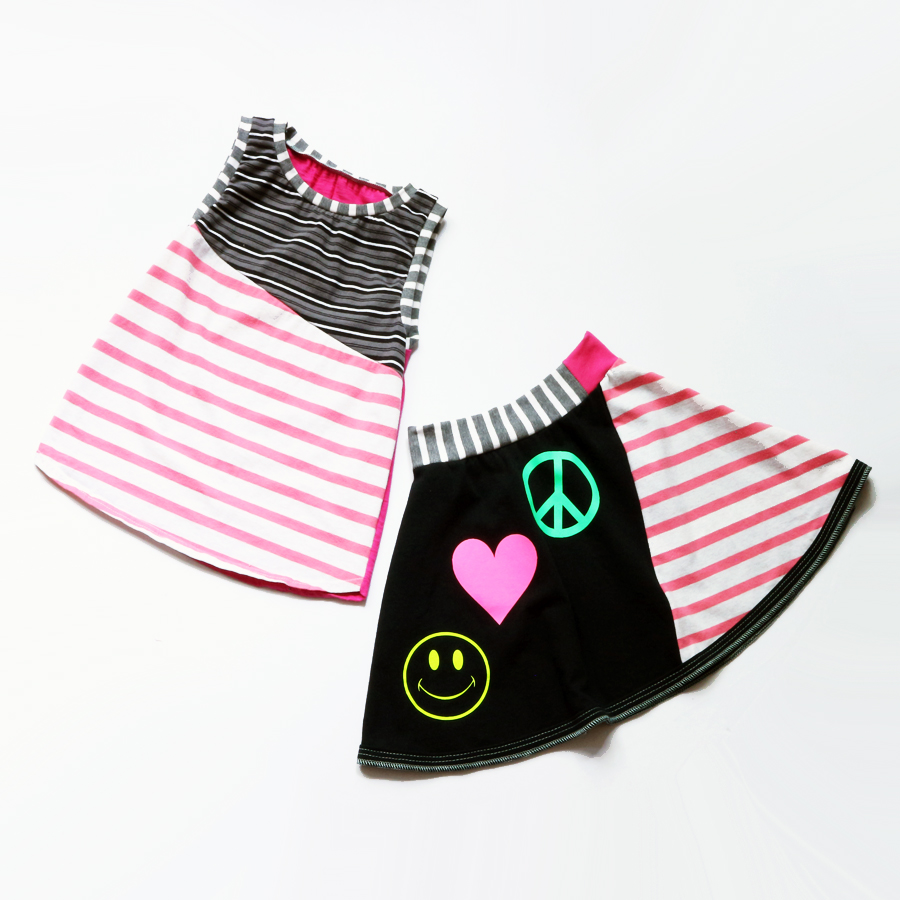 flat 10:12 pink:stripe:peace:smiley:skirt:set.jpg