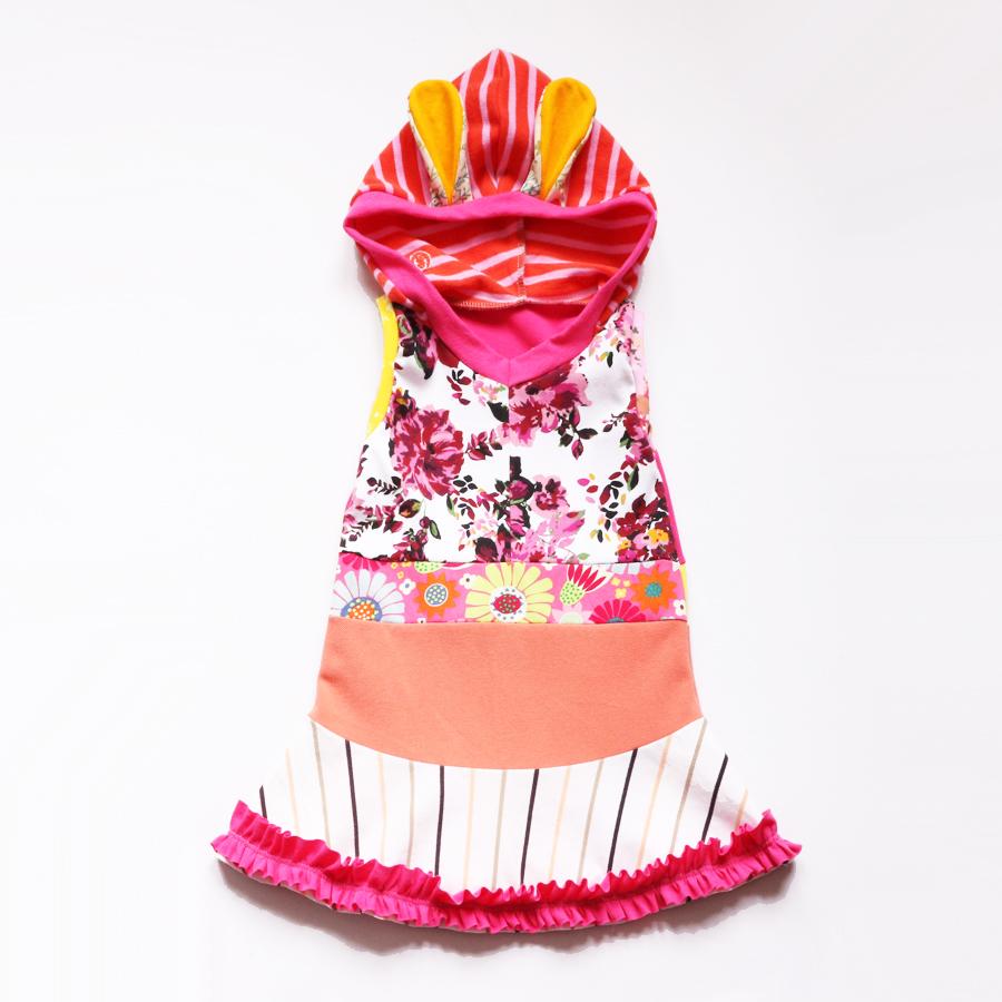 3T ruffles:pink:floral:bunny:hoodie.jpg