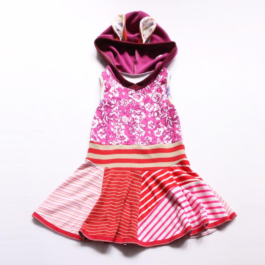 6:7 magenta:stripes:floral:twirl:bunny:hoodie .jpg