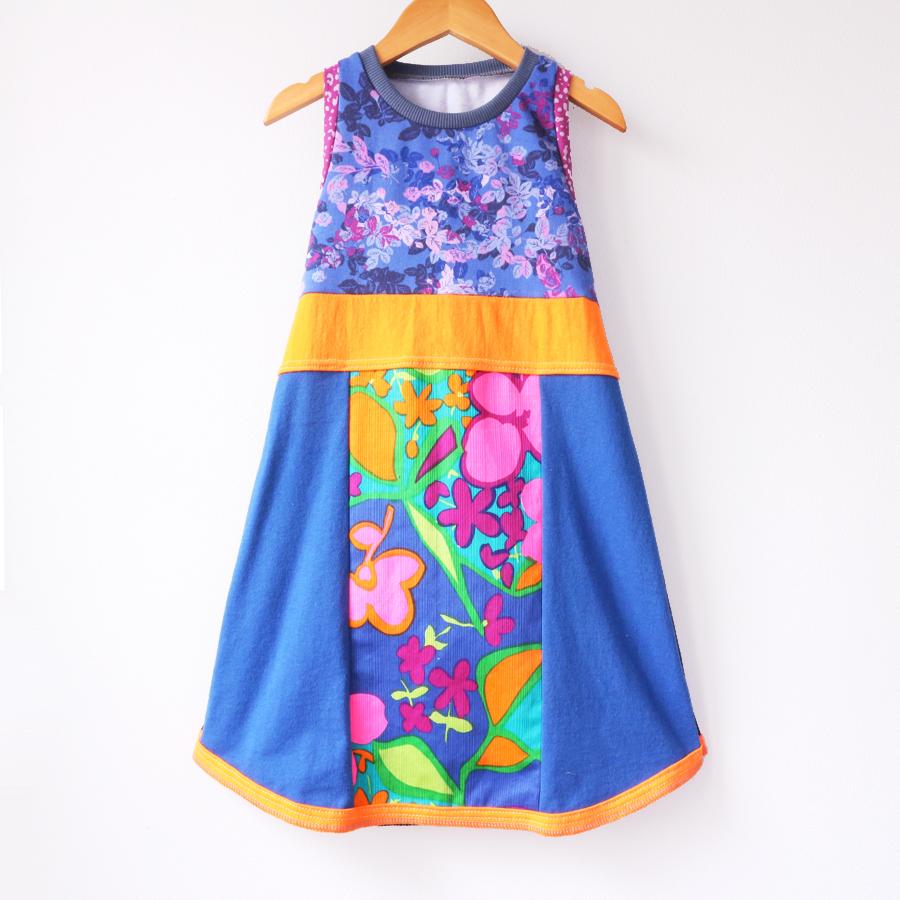 ⅘ violet:floral:vtg:neon:hawaiian:tank:tunic .jpg