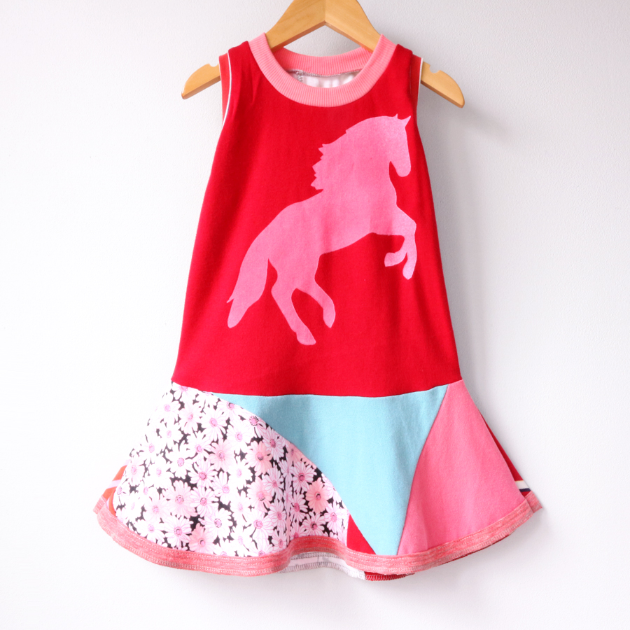 3T red:pink:horse:patchwork:pony .jpg