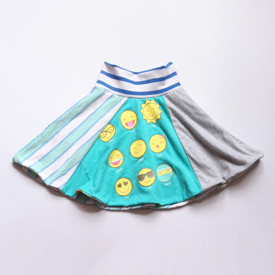 6:emoji:kitty:teal:blue:gray:lined:skirt.jpg
