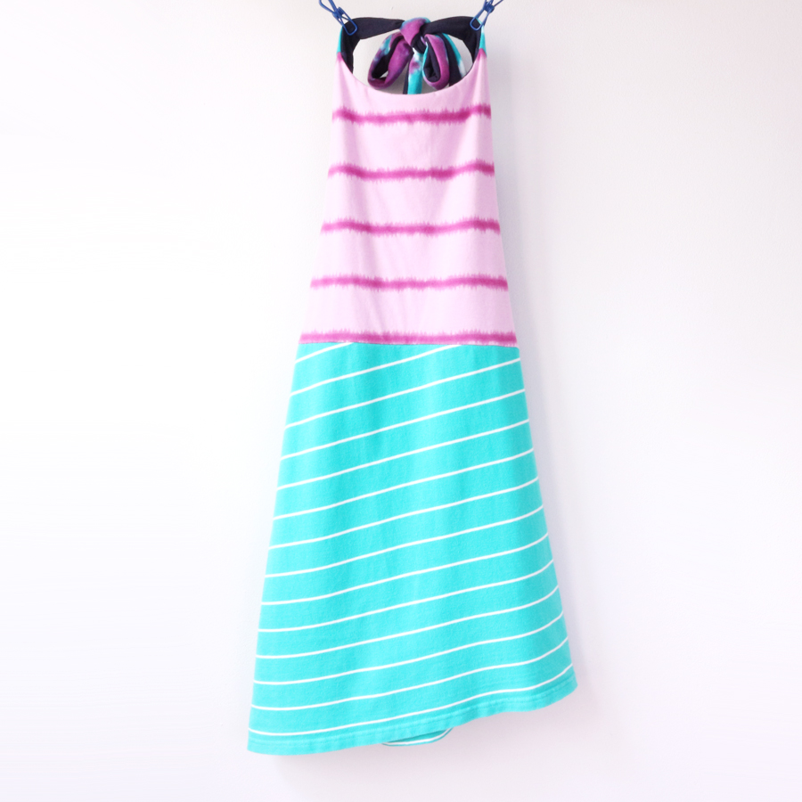 8:10 purple:dyed:aqua:asymmetrical:halter:dress.jpg