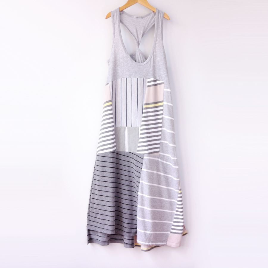 womens tank M greys patchwork.jpg