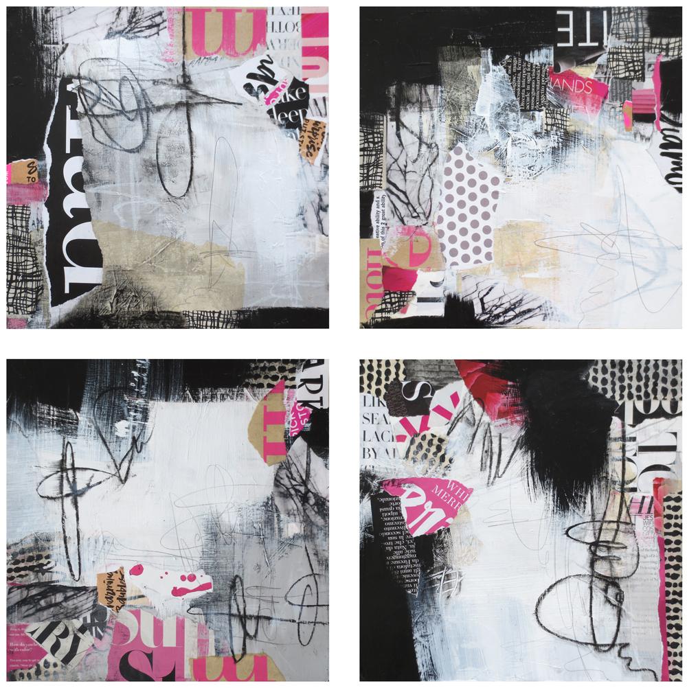 Graffiti Series with Pink