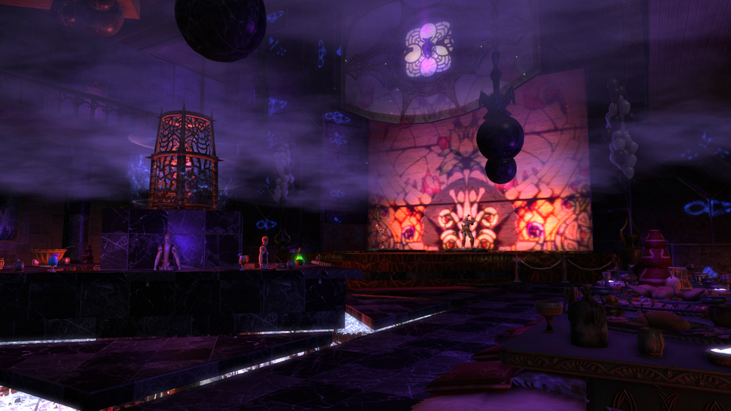 The Den of Iniquity, a dimension built by the Two Dogs Cartel guild on Rift and used for server-wide events.