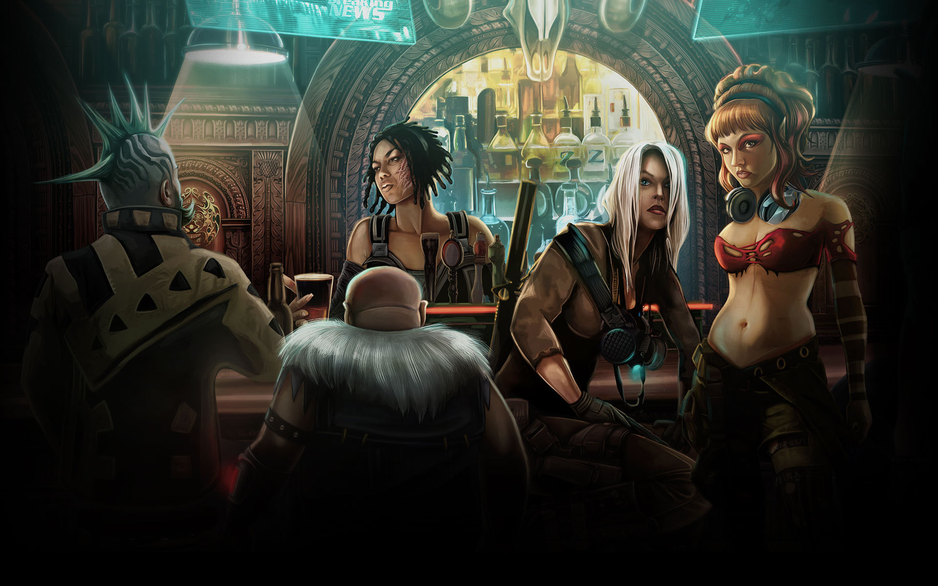 Shadowrun RPG Artwork