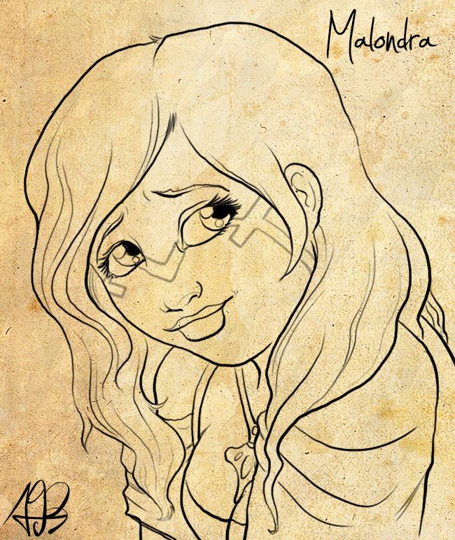 Malondra, sketched by Liabra