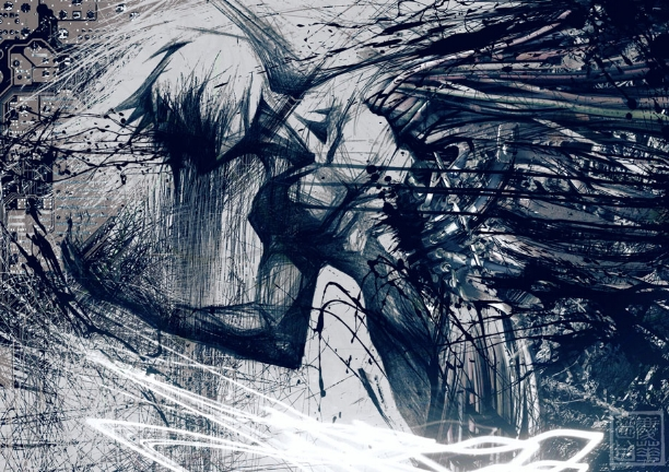 The Fall into Darkness is a facinating trope to explore, and to fear. The Becoming by  milestsang on www.deviantart.com