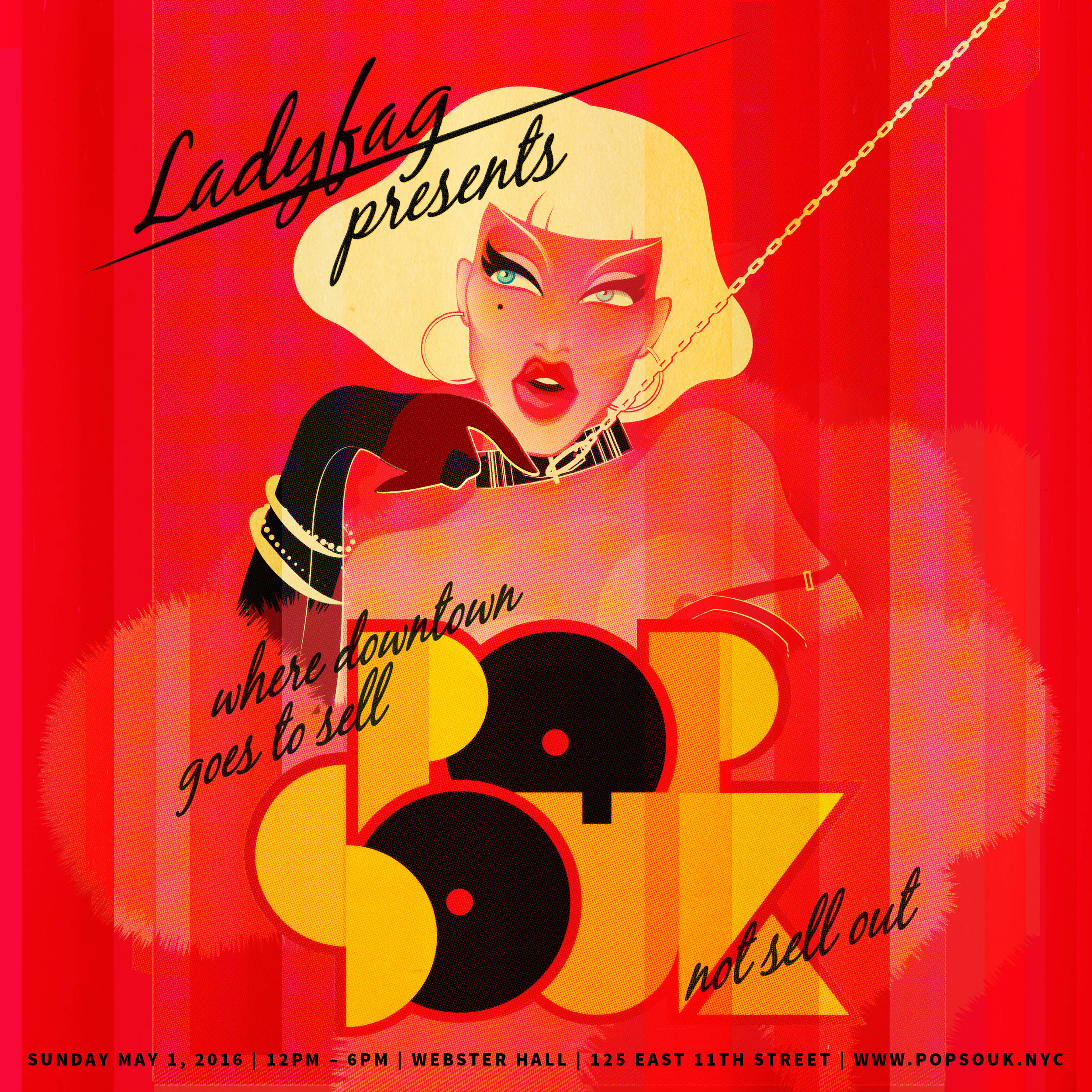 Pop Souk Hosted By LadyFag    Participating vendor  May 2016