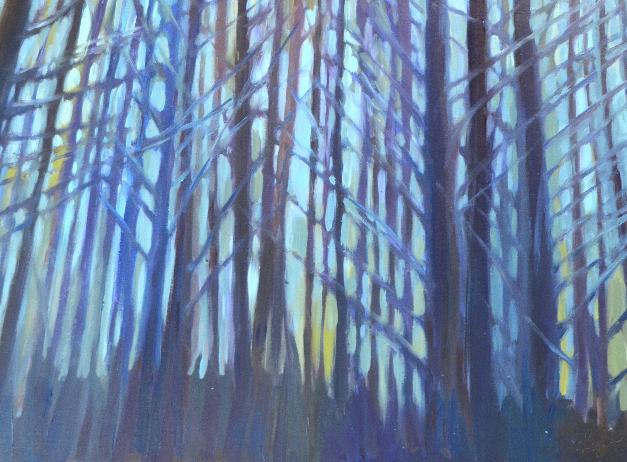 Ridge, Blue From Here