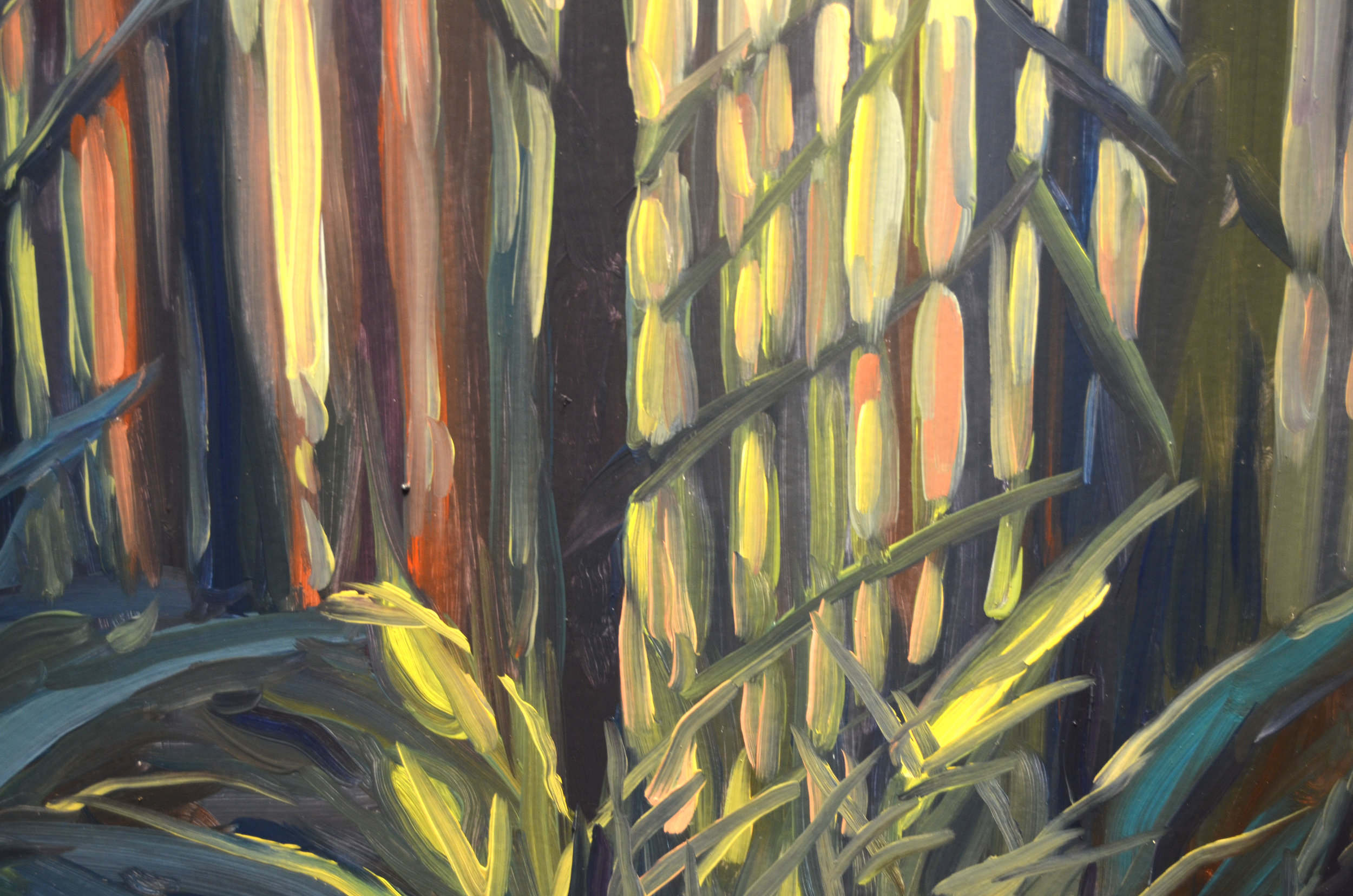 "detail from ""Ridge, Sun From Here"""