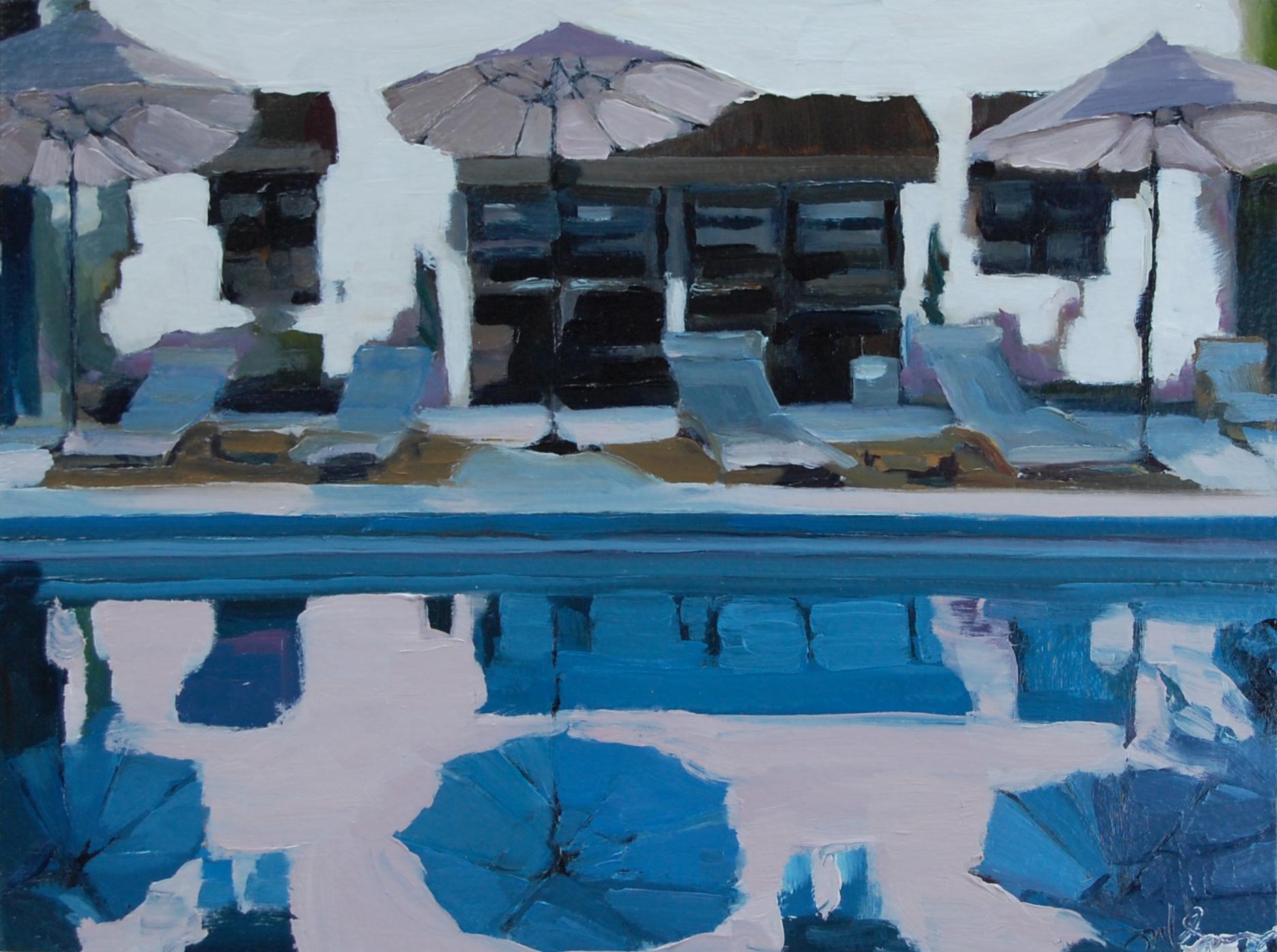 Three Umbrellas Pool