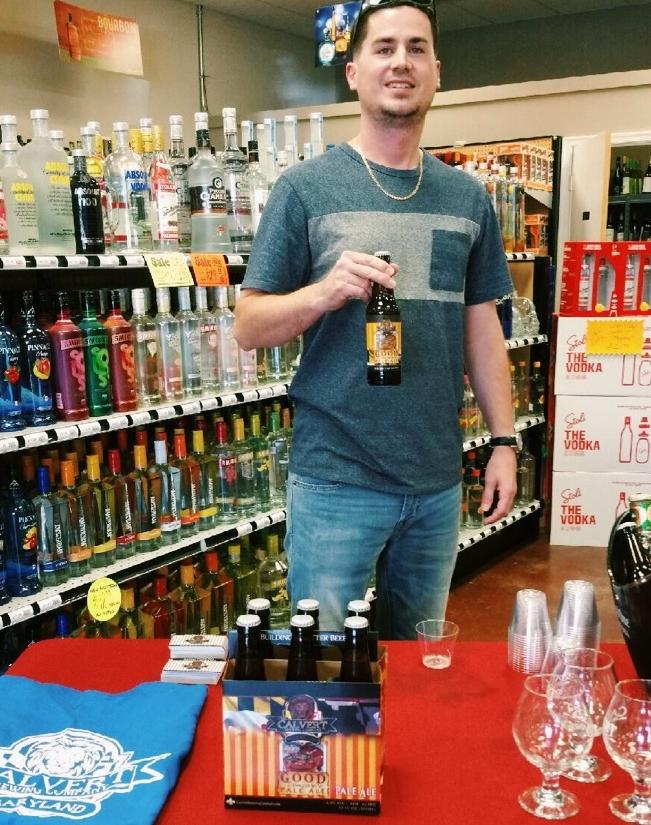 Nick Swinford, the public tasting master himself.