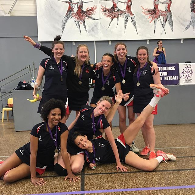 Our girls from the Paris Veil team made Netball Paris VERY PROUD today, winning the Netball Toulouse tournament for the very first time 💪 Some strong women making history 😍 Thank you to both Paris teams on your day in Toulouse, you girls did AMAZING ❤️❤️❤️