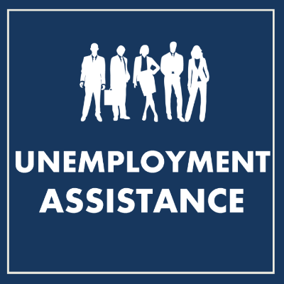 Click on the icon above to access the official Department of Unemployment Assistance website.