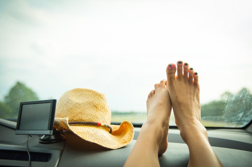 Road trip through the States!