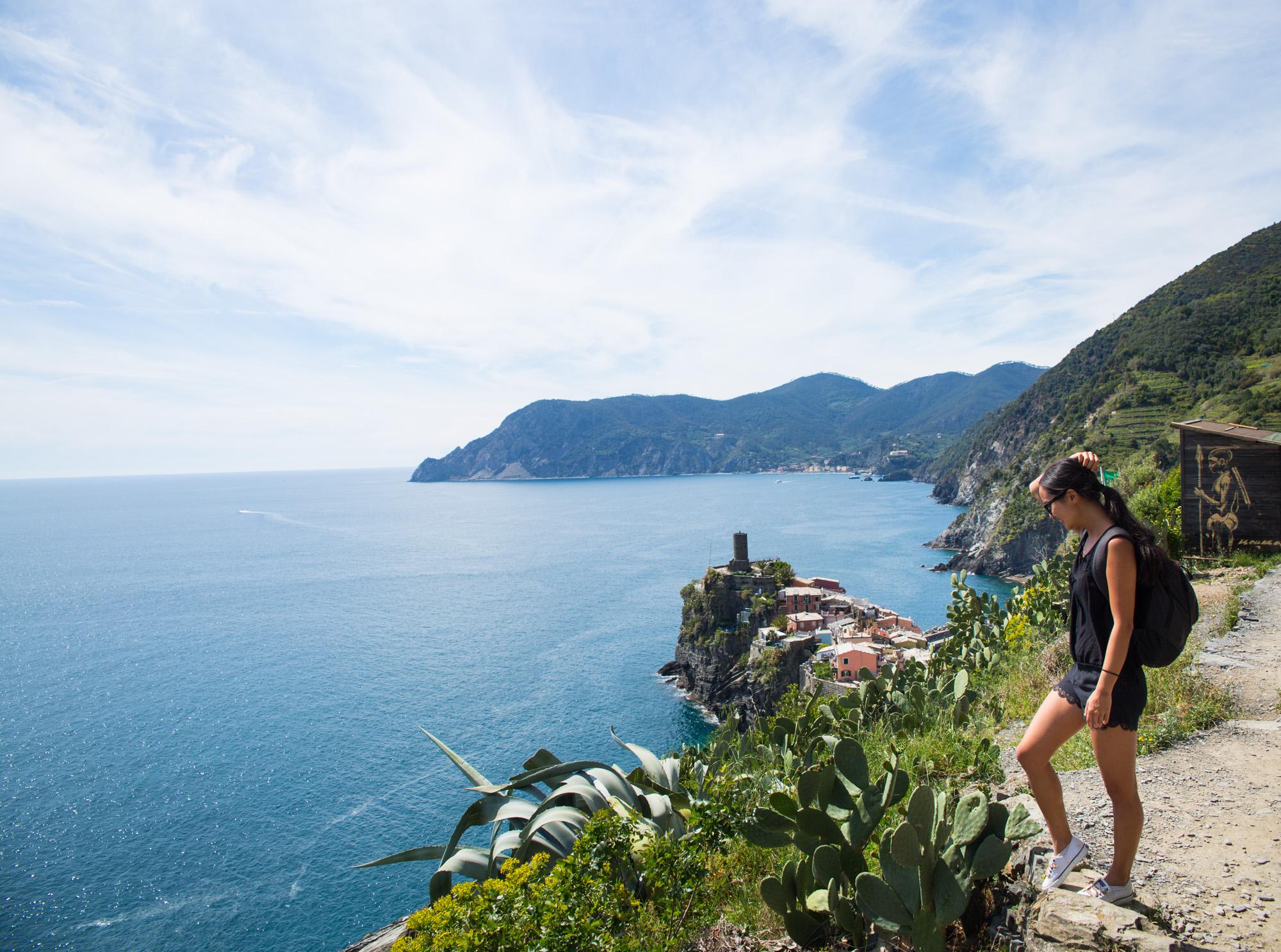 I spent April 2017 living in Riomaggiore, a small town in the Cinque Terre in the Liguria region of Italy.